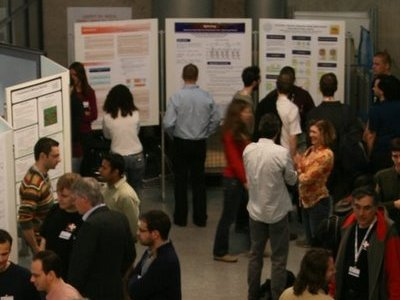 Eurosys09  poster session - Courtesy of Wanja Hofer